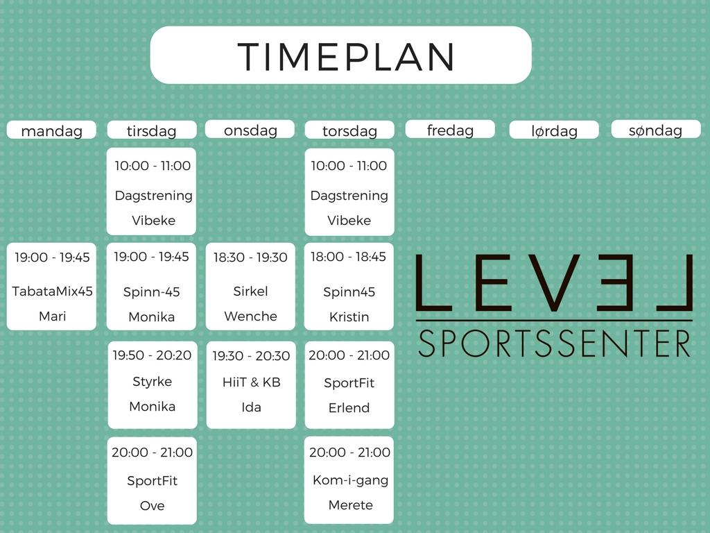 TIMEPLAN 17-18